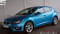 USED 2014 64 SEAT LEON 2.0TDi FR 5 DOOR 6-SPEED 150 BHP Finance? No deposit required and decision in minutes.