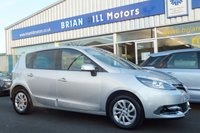 USED 2014 64 RENAULT SCENIC 1.5 DCi DYNAMIQUE NAVIGATION 5dr ...(ONE PRIVATE OWNER) FUL.................L RENAULT SERVICE HISTORY, SAT.NAV. LUXURY HALF LEATHER SEATING. CLIMATE CONTROL, ALLOY WHEELS, CRUISE CONTROL, FRONT/REAR ELECTRIC WINDOWS, PARKING SENSORS. MAKERS WARRANTY TO NOV. 2018. LIKE NEW CONDITION THROUGHOUT.