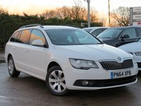 USED 2014 64 SKODA SUPERB 2.0 S TDI CR DSG 5d AUTO 139 BHP AUTOMATIC, ALLOY WHEELS, AVAILABLE TO DRIVE AWAY TODAY