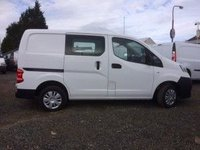 USED 2014 14 NISSAN NV200 1.5 DCI ACENTA 1d 90 BHP **REDUCED** 22000 Miles