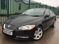 USED 2008 08 JAGUAR XF 2.7 PREMIUM LUXURY V6 4d AUTO 204 BHP SATNAV LEATHER BLUETOOTH SATELLITE NAVIGATION. STUNNING BLACK MET WITH FULL BLACK LEATHER TRIM. ELECTRIC MEMORY HEATED SEATS. CRUISE CONTROL. 18 INCH ALLOYS. COLOUR CODED TRIMS. PARKING SENSORS. BLUETOOTH PREP. CLIMATE CONTROL. R/CD PLAYER. PADDLESHIFT AUTO. MFSW. MOT 09/18. TEL 01937 849492