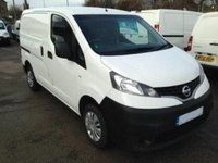 USED 2015 NISSAN NV200 1.5 ACENTA DCI LOW MILEAGE.  28000 Miles