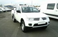 2013 MITSUBISHI L200 SWB DOUBLE CAB 4X4 (WITH CANOPY)134BHP £8250.00