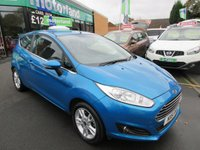 USED 2015 15 FORD FIESTA 1.2 ZETEC 3d 81 BHP 1 OWNER... FULL SERVICE HISTORY... JUST ARRIVED
