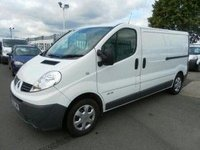 2013 RENAULT TRAFIC 2.0 LWB LOW ROOF £7995.00