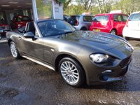 USED 2016 66 FIAT 124 1.4 SPIDER MULTIAIR CLASSICA CONVERTIBLE 2d 139 BHP One Owner from new, ONLY 1,521 miles covered! Convertible. Balance of Fiat Warranty until 2019