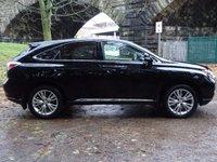 USED 2011 61 LEXUS RX 3.5 450H SE-I 5d AUTO 249 BHP