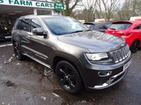 USED 2014 64 JEEP GRAND CHEROKEE 3.0 V6 CRD SUMMIT 5d AUTOMATIC 247 BHP One Owner from new, Just Serviced, NEW MOT (to be completed), Automatic, Four Wheel Drive, Diesel