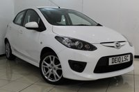 USED 2010 10 MAZDA 2 1.3 TAMURA 5DR 85 BHP MAZDA SERVICE HISTORY + MULTI FUNCTION WHEEL + AIR CONDITIONING + AUXILIARY PORT + ALLOY WHEELS