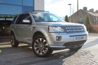 2013 LAND ROVER FREELANDER 2 2.2 SD4 HSE LUXURY 5d AUTO £15249.00