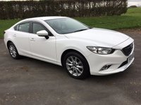 USED 2015 MAZDA 6 2.0 SE NAV 4d 143 BHP ONE LOCAL OWNER FROM NEW, READY TO GO