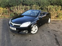 2009 VAUXHALL ASTRA 1.8 TWIN TOP DESIGN 3d 140 BHP £3500.00