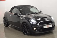 USED 2013 13 MINI ROADSTER 1.6 COOPER S 2d 181 BHP *MIDNIGHT BLACK* **CHILI PACK**
