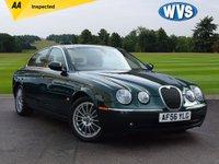 2006 JAGUAR S-TYPE 2.7 V6 SE 4d 206 BHP £3299.00
