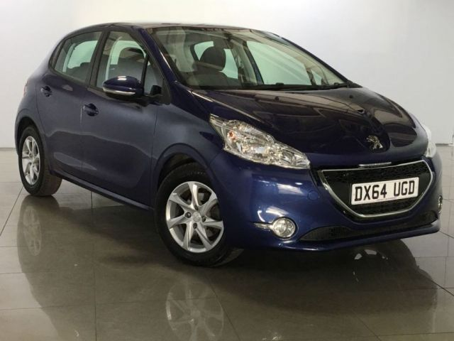 View our 2014 64 PEUGEOT 208 1.4 ACTIVE HDI 5d 68 BHP