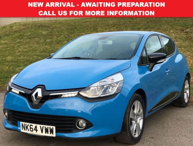 View our 2014 64 RENAULT CLIO 1.5 DYNAMIQUE MEDIANAV ENERGY DCI S/S 5d 90 BHP