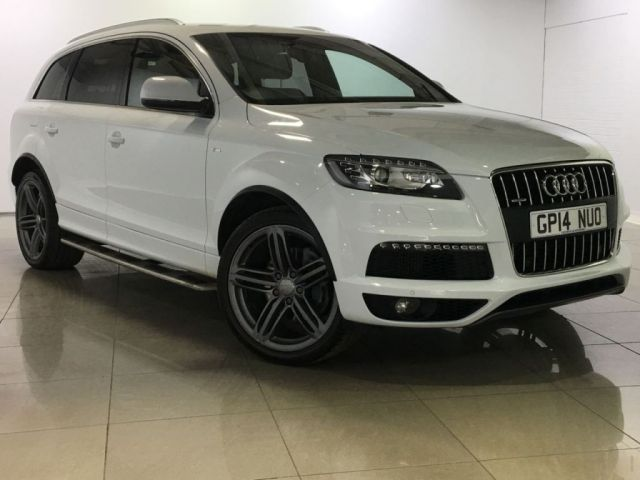 View our 2014 14 AUDI Q7 3.0 TDI QUATTRO S LINE PLUS 5d AUTO 245 BHP