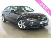 USED 2014 64 AUDI A4 2.0 TDI SE TECHNIK 4d 134 BHP LEATHER / SAT NAV / DAB