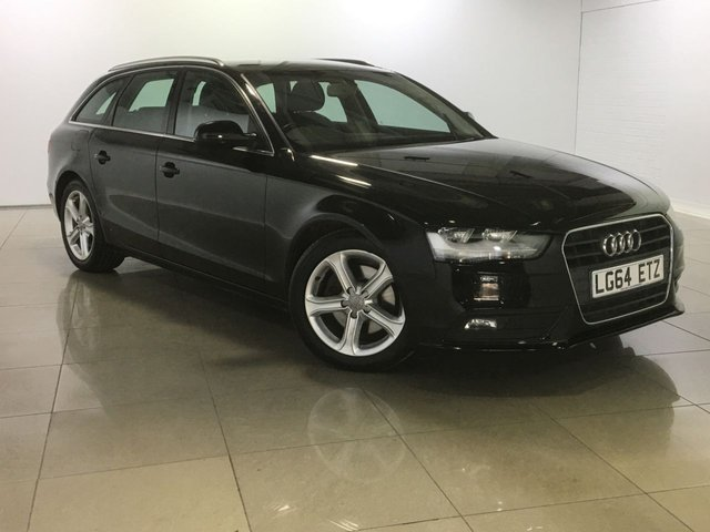 View our 2014 64 AUDI A4 2.0 AVANT TDI SE TECHNIK 5d 134 BHP