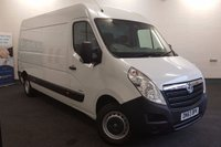 USED 2013 63 VAUXHALL MOVANO 2.3 CDTi 100 BHP F3500 L3H2 *Long Wheel Base-High Roof* with Bluetooth Connectivity *Over The Phone Low Rate Finance Available*   *UK Delivery Can Also Be Arranged*           ___________       Call us on 01709 866668 or Send us a Text on 07462 824433