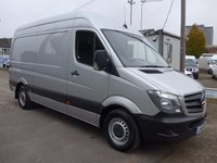 USED 2014 14 MERCEDES-BENZ SPRINTER 316 CDI MWB HI ROOF, 160 BHP [EURO 5], ELECTRIC PACK, PARK ASSIST