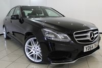 USED 2014 64 MERCEDES-BENZ E CLASS 2.1 E250 CDI AMG SPORT 4DR AUTOMATIC 202 BHP SERVICE HISTORY + HEATED HALF LEATHER SEATS + SAT NAVIGATION + PARKING SENSOR + BLUETOOTH + CRUISE CONTROL + MULTI FUNCTION WHEEL + 18 INCH ALLOY WHEELS