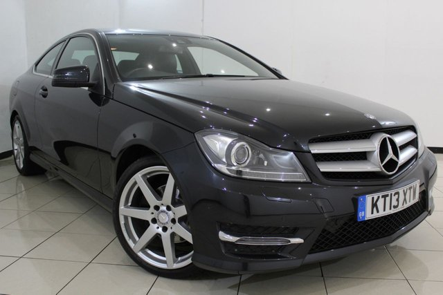 View our 2013 13 MERCEDES-BENZ C CLASS 2.1 C220 CDI BLUEEFFICIENCY AMG SPORT 2DR AUTOMATIC 170 BHP