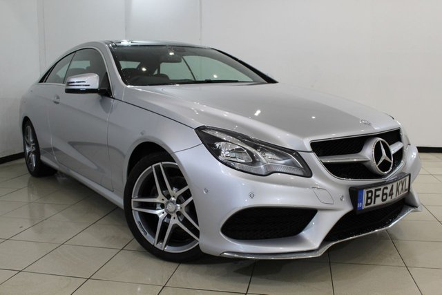 View our 2014 64 MERCEDES-BENZ E CLASS 3.0 E350 BLUETEC AMG SPORT 2DR AUTOMATIC 252 BHP