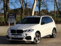 "USED 2015 BMW X5 3.0 M50D 5d AUTO 376 BHP 7 SEAT Massive spec M50d, 7 Seats, Panoramic roof, 20"" Double spoke M-Sport alloys, Electric tailgate, M-Performance styling, Sat Nav, Bluetooth, DAB"