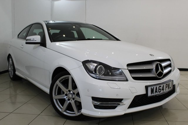 View our 2014 64 MERCEDES-BENZ C CLASS 2.1 C250 CDI AMG SPORT EDITION PREMIUM PLUS 2DR AUTOMATIC 202 BHP