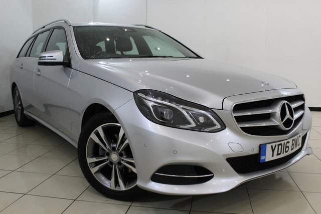 View our 2016 16 MERCEDES-BENZ E CLASS 2.1 E220 BLUETEC SE 5DR AUTOMATIC 174 BHP