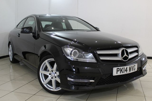 View our 2014 14 MERCEDES-BENZ C CLASS 1.6 C180 AMG SPORT EDITION 2DR 154 BHP