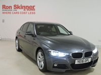 USED 2016 16 BMW 3 SERIES 2.0 320D XDRIVE M SPORT 4d AUTO 188 BHP with BMW Pro Media Package + Enhanced Bluetooth + More (See Stock Comments)