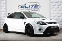 USED 2010 10 FORD FOCUS 2.5 RS 3dr STAGE4+/ AUTOSPECIALISTS PLENUM / K&N INDUCTION KIT / 650CC INJECTORS / AIRTEC INTERCOOLER / RS PRIVATE PLATE / 400+BHP!!!/ FSH / LUX PACK 1 / DYNAMICA SEATS UPGRADE!!