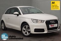 USED 2015 65 AUDI A1 1.0 TFSI SE 3d 93 BHP 1 OWNER +SHELL WHITE +LEATHER