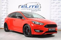 USED 2016 66 FORD FOCUS 1.5 T EcoBoost Zetec S Red Edition 5dr (start/stop) DAB NAVIGATION / PARK ASSIST