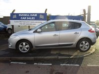 USED 2009 59 RENAULT MEGANE 1.6 DYNAMIQUE VVT 5d 110 BHP Bluetooth Connection - 4 Stamps Of Service History - New MOT & Full Service Done on purchase + 2 Years FREE Mot & Service Included After . 3 Months Russell Ham Quality Warranty . All Car's Are HPI Clear . Finance Arranged - Credit Card's Accepted . for more cars www.russellham.co.uk  - Spare key card and book pack-