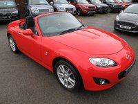 2010 MAZDA MX-5 2.0 I ROADSTER SE 2d 158 BHP HARD TOP CONVERTIBLE 2 LITRE £6999.00