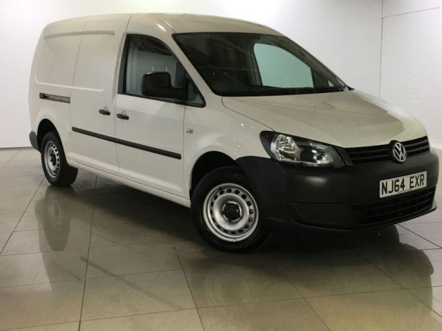 View our 2014 64 VOLKSWAGEN CADDY MAXI 1.6 C20 TDI STARTLINE BLUEMOTION TECHNOLOGY 1d 101 BHP