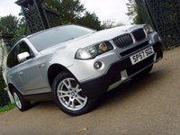 2007 BMW X3 2.0 D SE 5d 148 BHP £5499.00