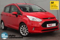 USED 2016 66 FORD B-MAX 1.6 TITANIUM 5d AUTO 104 BHP 1 OWNER + FULL FORD HISTORY