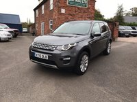 2015 LAND ROVER DISCOVERY SPORT 2.2 SD4 HSE 5d AUTO 190 BHP £29750.00