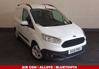 2015 FORD TRANSIT COURIER 1.5 TDCI Trend 75 BHP Air Con, DAB Radio, Bluetooth, Cruise Control, One Owner, Full History £6880.00