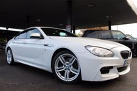 USED 2014 14 BMW 6 SERIES 3.0 640D M SPORT GRAN COUPE 4d 309 BHP