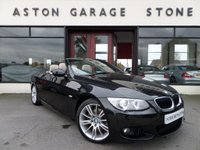 USED 2012 12 BMW 3 SERIES 2.0 320D M SPORT 2d CONVERTIBLE AUTO 181 BHP **LEATHER** ** HEATED LEATHER * CRUISE **