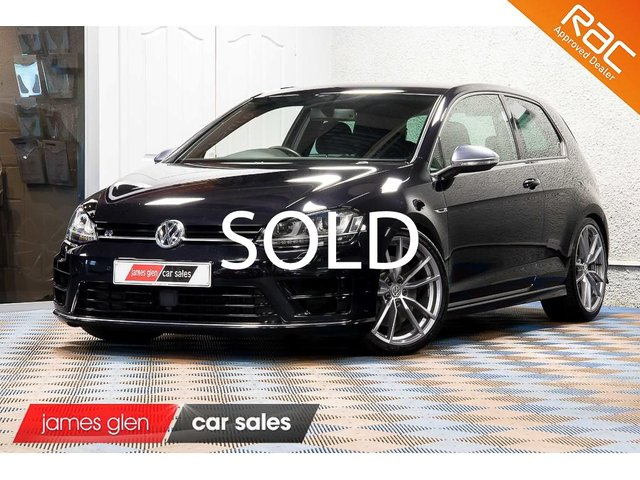 USED 2016 16 VOLKSWAGEN GOLF 2.0 R DSG 3d AUTO 298 BHP Demo + 1 Owner | First VW Service Complete