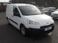 USED 2015 64 PEUGEOT PARTNER 1.6 HDI PROFESSIONAL L1 850 5d 89 BHP 1 COMPANY OWNER FROM NEW NO DEPOSIT  FINANCE ARRANGED, APPLY HERE NOW
