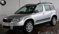 USED 2013 13 SKODA YETI 1.2TSi ELEGANCE 5 DOOR 6-SPEED 103 BHP Finance? No deposit required and decision in minutes.