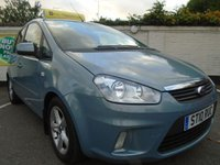 USED 2010 10 FORD C-MAX 1.6 ZETEC 5d 100 BHP GUARANTEED TO BEAT ANY 'WE BUY ANY CAR' VALUATION ON YOUR PART EXCHANGE