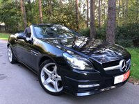 2012 MERCEDES-BENZ SLK 1.8 SLK200 BLUEEFFICIENCY AMG SPORT 2d 184 BHP £14450.00